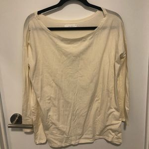 Oak and Fort slouchy top
